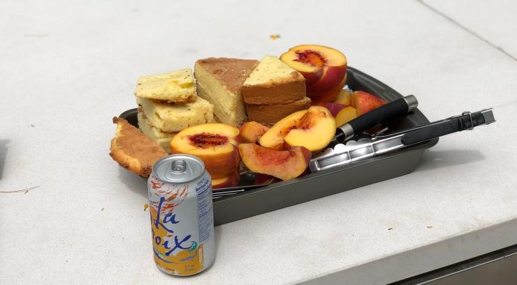 Grill-Ready Peaches & Pound Cake