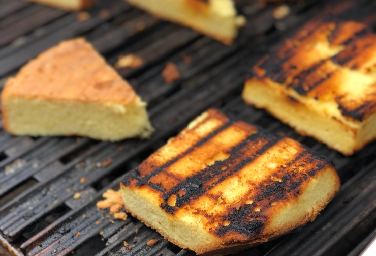 Grilled Pound Cake