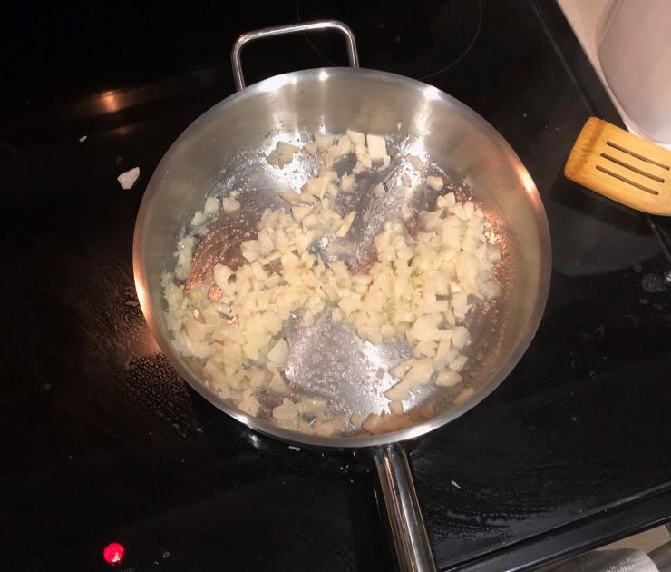 Caramelizing Jicama
