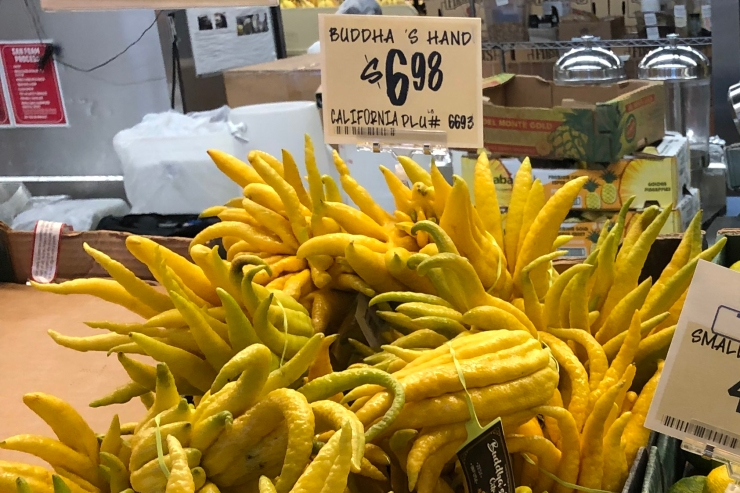 Buddha's Hand at the Grocery Store