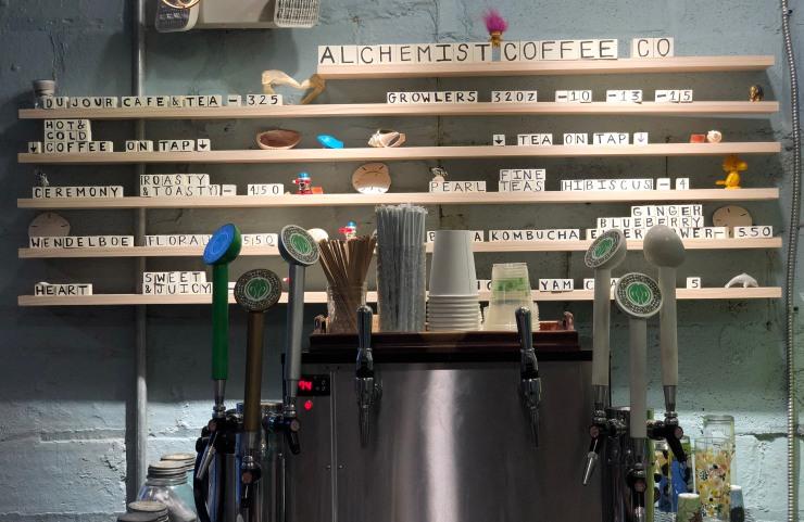 Alchemist Coffee's Retail Place